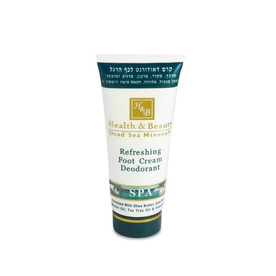 Крем-дезодорант для ног с охлaждающим эффектом Health & Beauty (Хэлс энд Бьюти) 100 мл