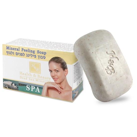 Мыло-скраб твердое туалетное с минералами Мертвого моря Health & Beauty (Хэлс энд Бьюти) 125 г