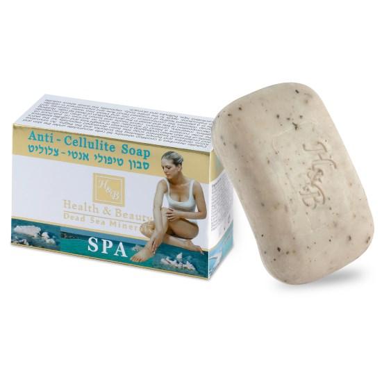 Мыло туалетное твердое антицеллюлитное для массажа Health & Beauty (Хэлс энд Бьюти) 125 г