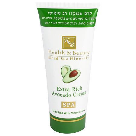 Антивозрастной увлажняющий универсальный крем Авокадо Health & Beauty (Хелс энд Бьюти) 180 мл