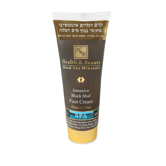 Интенсивный крем для ног с грязью Мертвого моря Health & Beauty (Хэлс энд Бьюти) 200 мл