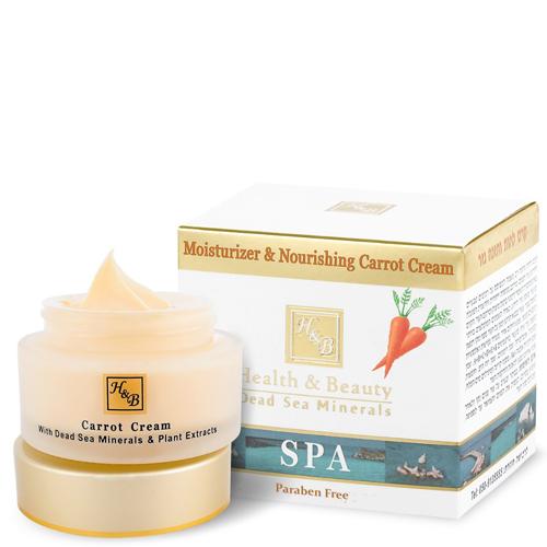 Увлажняющий питательный крем для лица с морковным маслом Health & Beauty (Хелф энд Бьюти) 50 мл