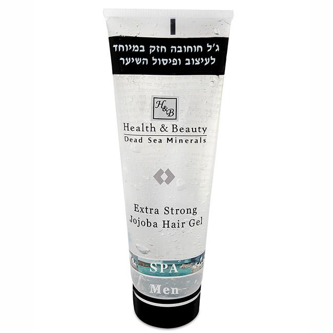Интенсивный гель для укладки волос с экстрактом Жожоба Health & Beauty (Хелс энд Бьюти) 250 мл