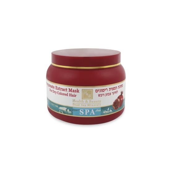 Маска для волос с экстрактом Граната Health & Beauty (Хэлс энд Бьюти) 250 мл