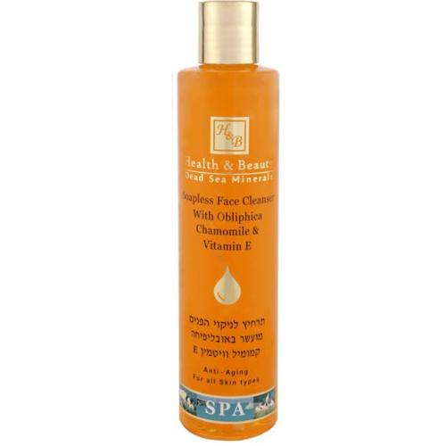 Очищающее средство для лица без мыла с облепихой Health & Beauty (Хелф энд Бьюти) 250 мл