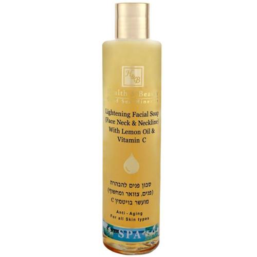 Осветляющее мыло для лица шеи и области декольте Health & Beauty (Хелф энд Бьюти) 250 мл