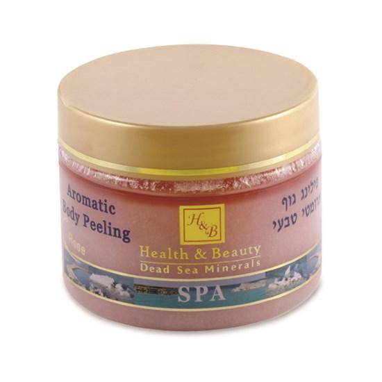 Масляно-солевой скраб для тела Роза Health & Beauty (Хэлс энд Бьюти) 450 мл