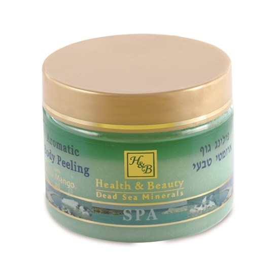 Масляно-солевой скраб для тела Манго-Киви Health & Beauty (Хэлс энд Бьюти) 450 мл