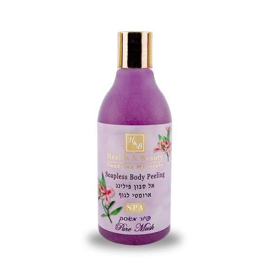 Увлажняющий жидкий скраб для тела Мускус Health & Beauty (Хэлс энд Бьюти) 300 мл