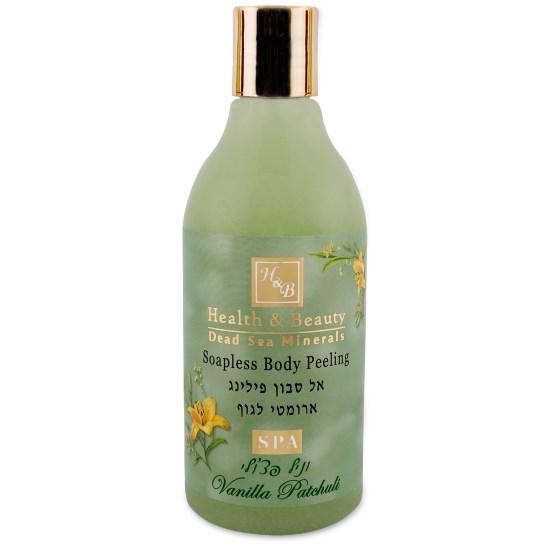 Увлажняющий жидкий скраб для тела Ваниль и Пачули Health & Beauty (Хэлс энд Бьюти) 300 мл
