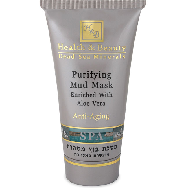 Очищающая грязевая маска для лица с Алоэ Вера Health & Beauty (Хелф энд Бьюти) 150 мл