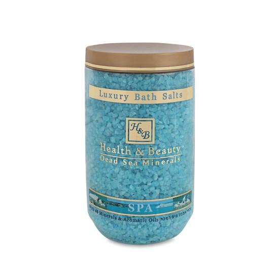 Соль Мертвого моря для ванны Лаванда Health & Beauty (Хэлс энд Бьюти) 1200 г