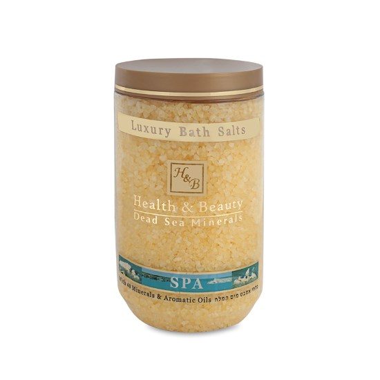 Соль Мертвого моря для ванны Ваниль Health & Beauty (Хэлс энд Бьюти) 1200 г