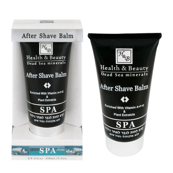 Бальзам после бритья с гиалуроновой кислотой и вытяжкой черной икры Health & Beauty (Хелс энд Бьюти) 150 мл