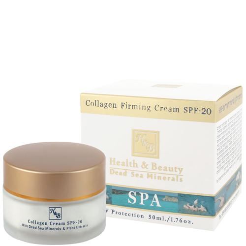 Коллагеновый укрепляющий дневной крем с фактором SPF-20 Health & Beauty (Хелс энд Бьюти) 50 мл