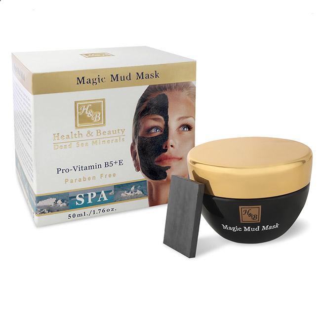 Минеральная грязевая маска для лица с чудодейственным камнем Health & Beauty (Хелс энд Бьюти) 50 мл