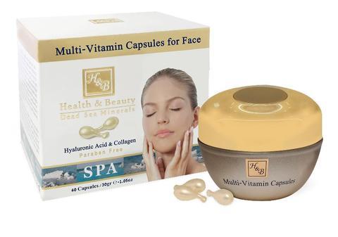 Мультивитаминные капсулы для лица  Health & Beauty (Хелс энд Бьюти)  , 40x30г