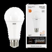 Лампа Gauss LED 25W E27 2700K