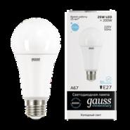 Лампа Gauss LED 25W E27 6500K
