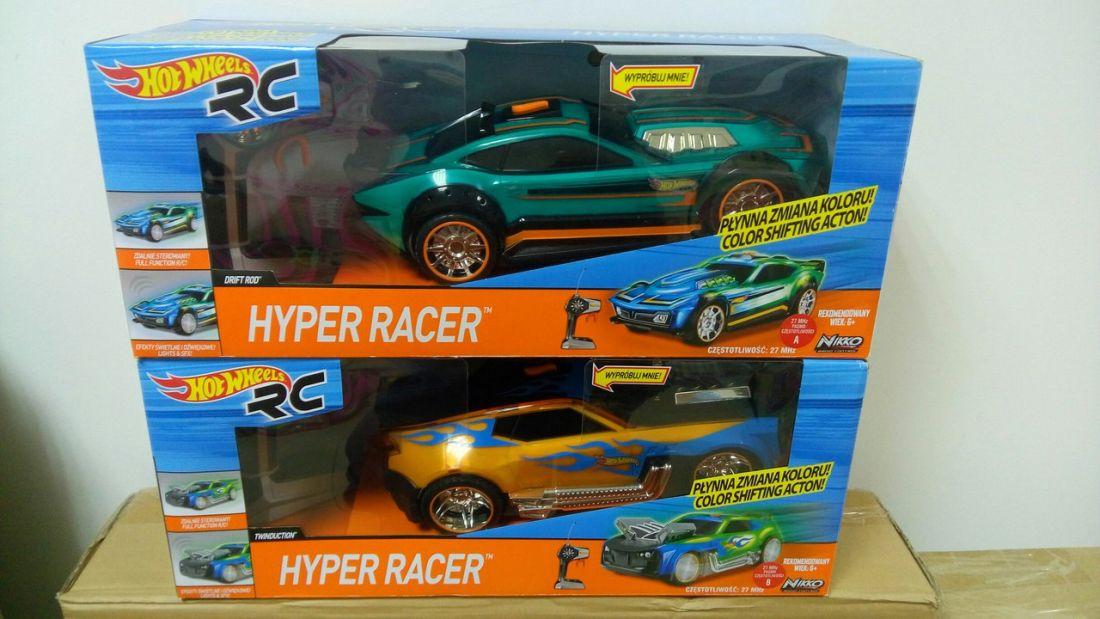 Автомобиль на управлении HOT wheels hyper racer RC