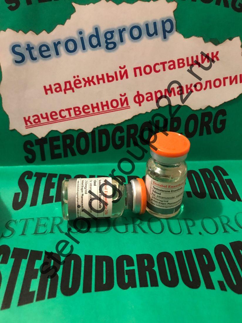 Testabol Enanthate 250 British Dragon 1 флакон * 10 мл.
