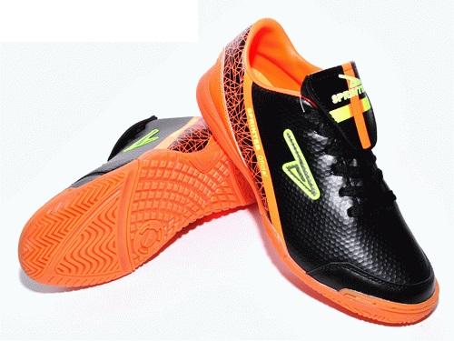 Бутсы футб. зальные SPRINTER черно-оранжевый АХ5633 Black/Orange