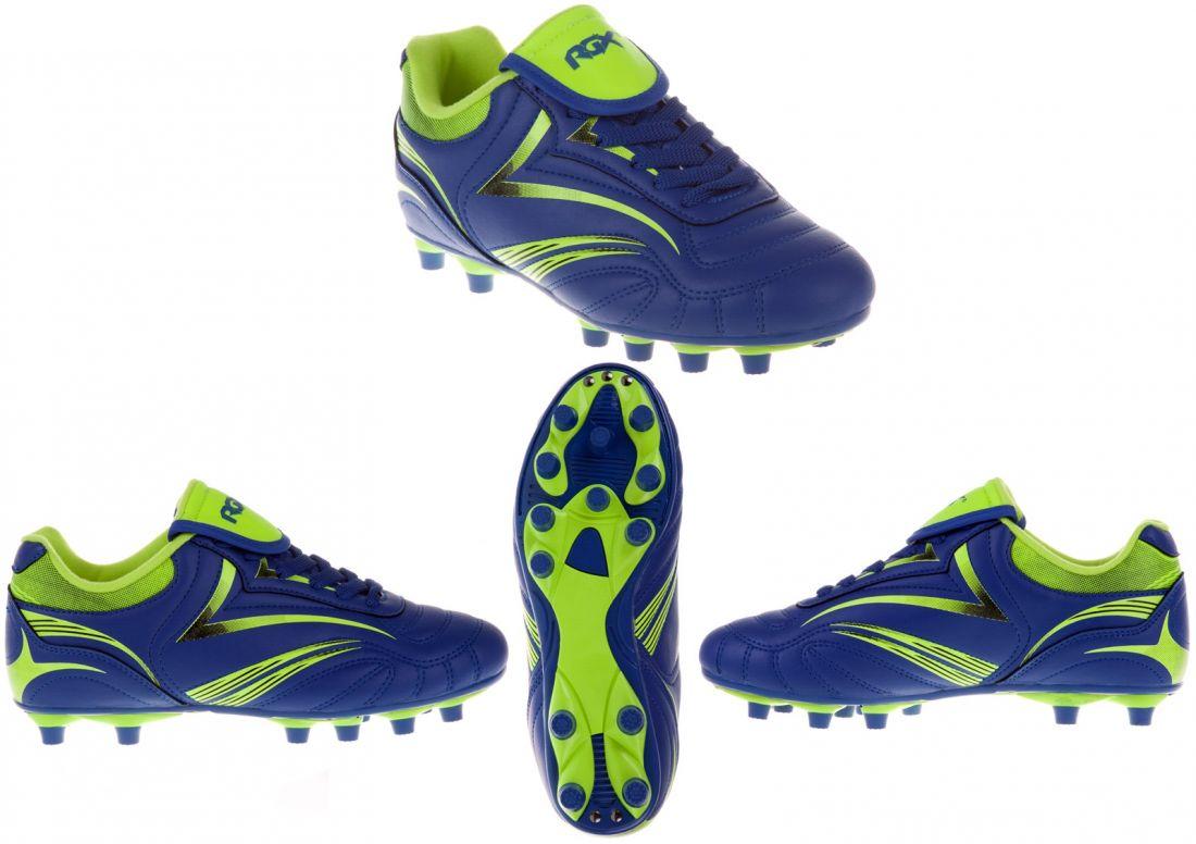 Бутсы футбольные шипованные RGX-SB03 blue
