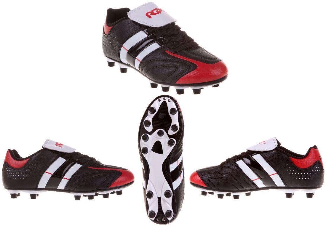 Бутсы футбольные шипованные RGX-SB02 black