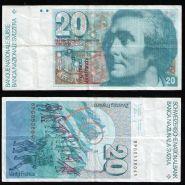 Швейцария. 20 франков (Орас Бенедикт де Соссюр)