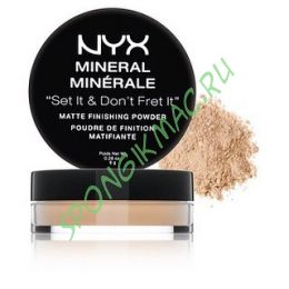 "Рассыпчатая пудра для лица NYX ""Mineral Set it don't fret it"" 12 g"