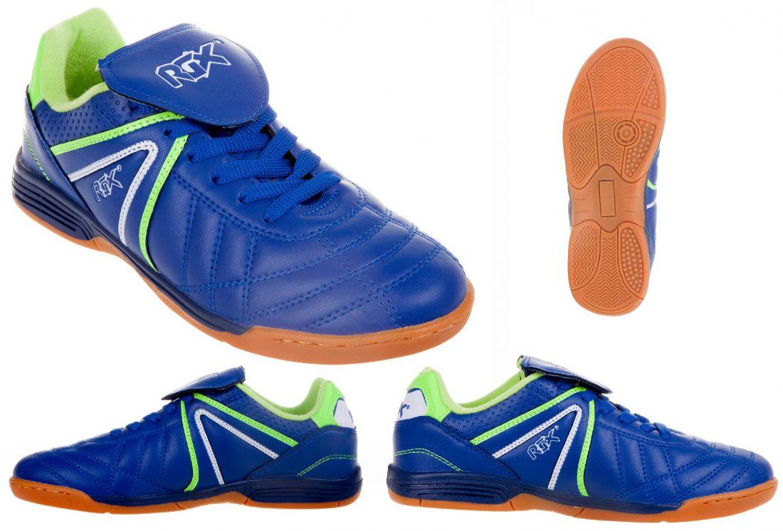 Бутсы футбольные зальные RGX-ZAL-011 blue