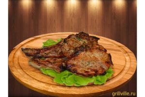 Шашлык из свинины на кости 250г