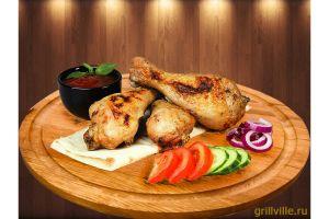 Шашлык из куриной голени 300г
