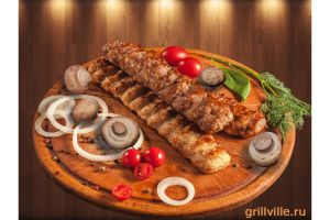 Люля-Кебаб из говядины с грибами 200г