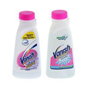 Жидкий пятновыводитель-отбеливатель для белого Vanish, 450 мл