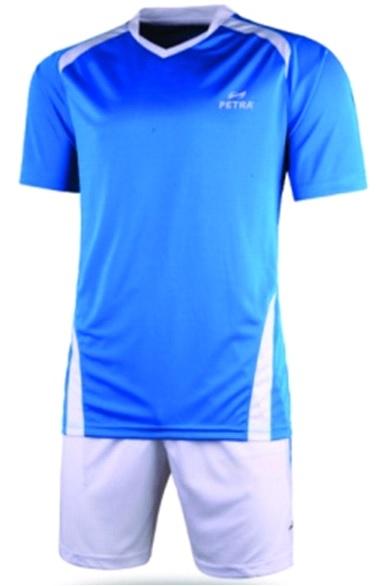Форма футбольная INDIGO 300021 Голубая/Белая