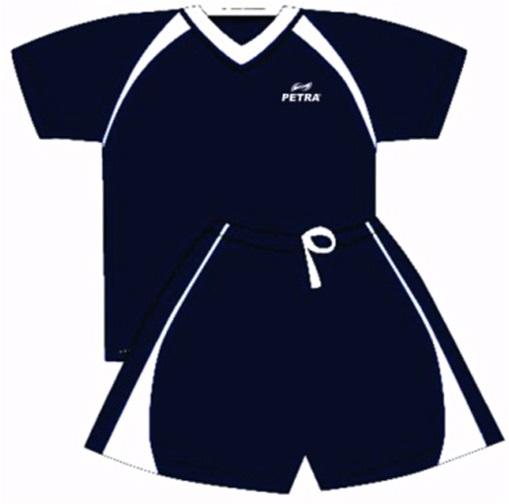 Форма футбольная INDIGO 300023 Чёрный/Белый