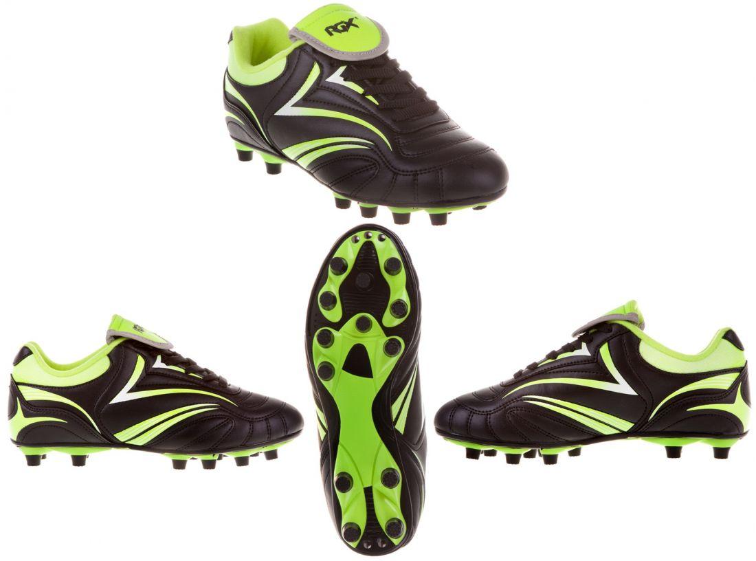 Бутсы футбольные шипованные RGX-SB03 black