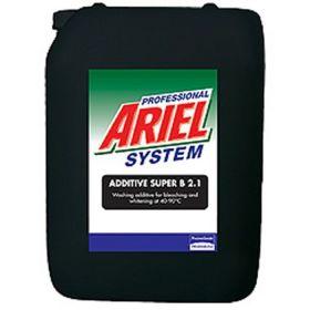 Моющее средство Ariel Professional System Additive Super B 2.1 для отбеливания белья, 20 л
