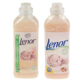 """Кондиционер для белья Lenor """"Миндальное масло"""" для чувствительной кожи, концентрат, 1 л"""