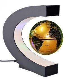 Летающий глобус (золотой)