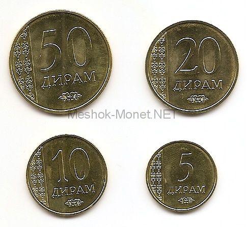 Набор монет 2015 г, Таджикистан