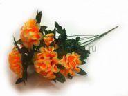 Искусственный букет хризантем 7 голов  (60 см., 20 шт./уп.)  6  расцветок