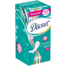 Прокладки Alldays Discreet на кажд. день Deo Water Lily Trio 60шт *