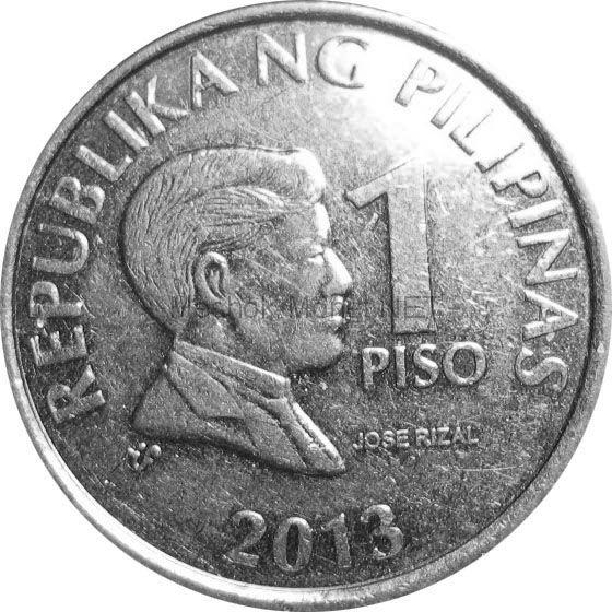 Филиппины 1 песо 1996 г.