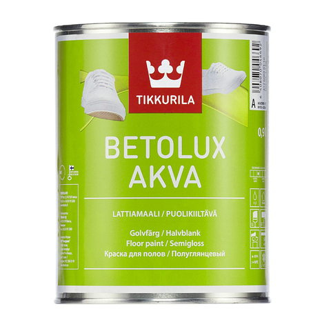 Бетолюкс Аква краска полуглянцевая TIKKURILA Betolux Akva