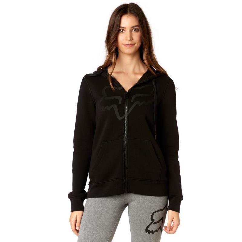 Fox - Certain Zip Fleece Black толстовка женская, черная