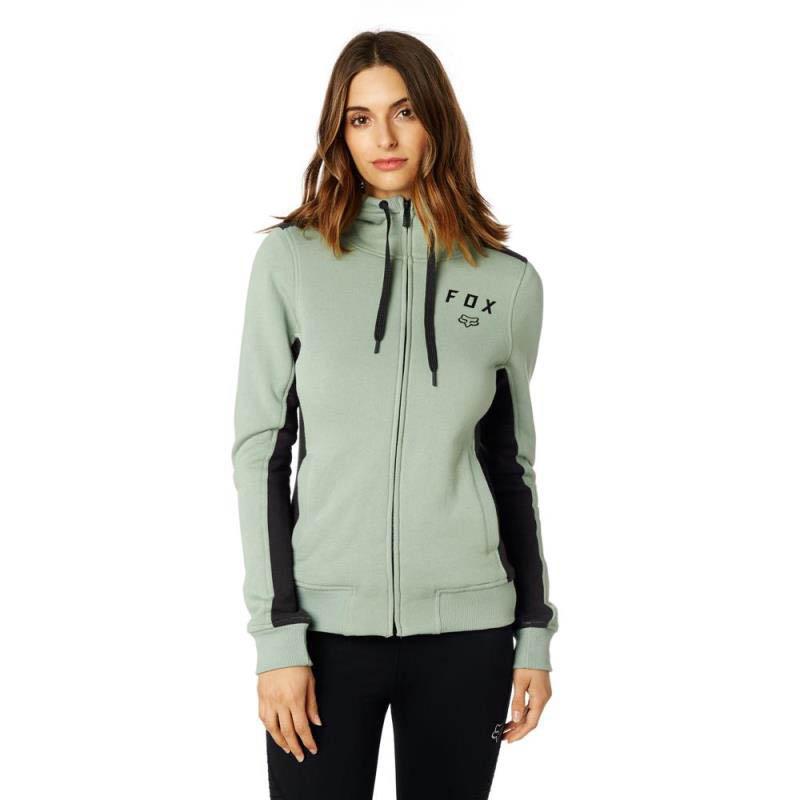 Fox - Outbound Sherpa Zip Fleece Sage толстовка женская, зеленая