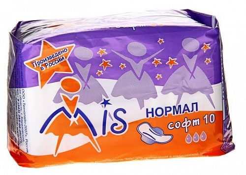 Прокладки Mis Нормал софт 3 капли