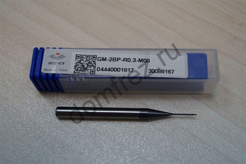 Фреза GM-2BP-R0.3-M08